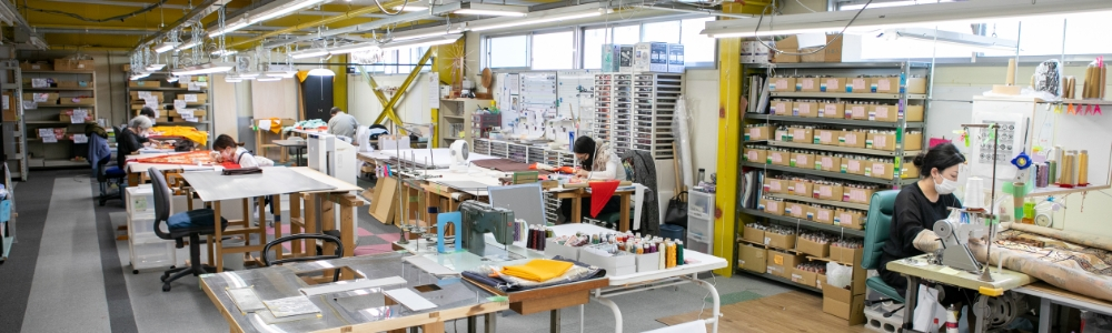 京都刺繍修復工房 伏見本社工房