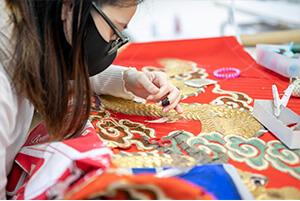 刺繍の修繕・復元